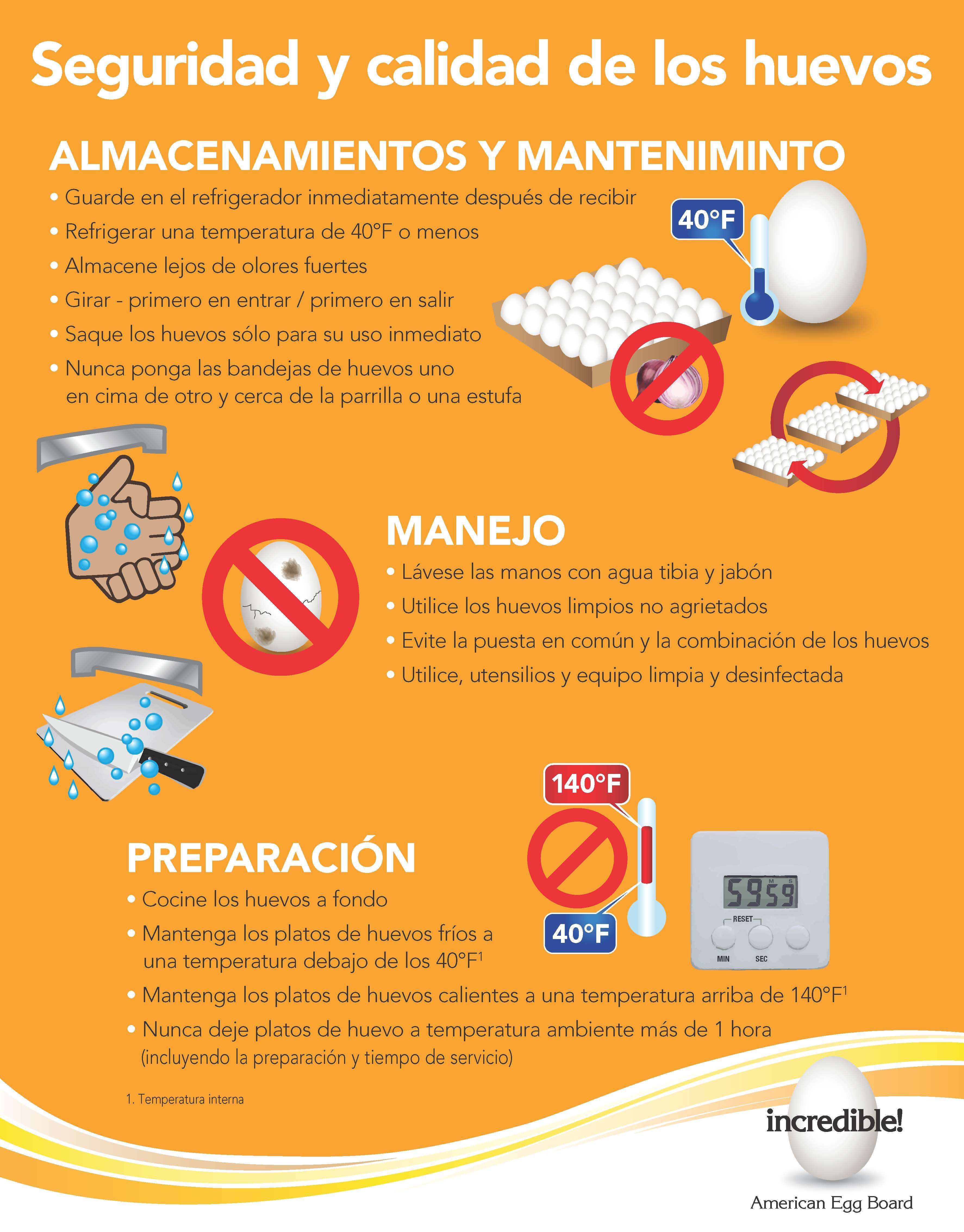Egg Safety & Quality (Spanish)
