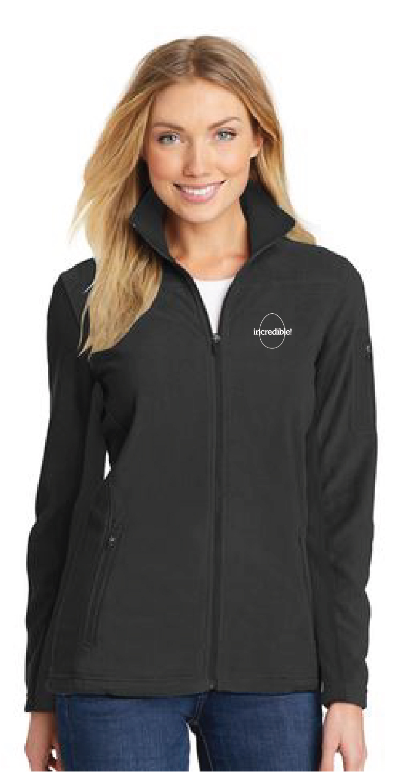 Women's Full-Zip Fleece Jacket (Black)