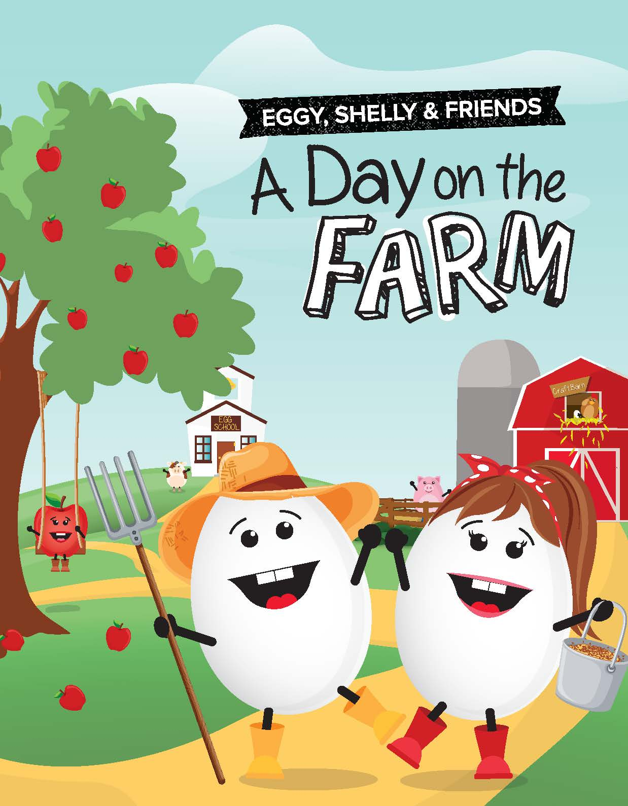 Day On The Farm activity book