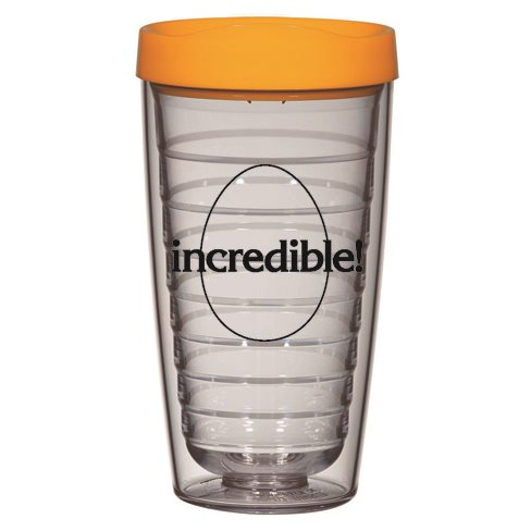 Clear Double-Wall Tumbler