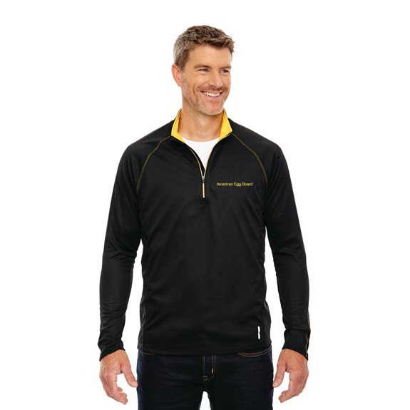 Men's Half-Zip Performance Long Sleeve